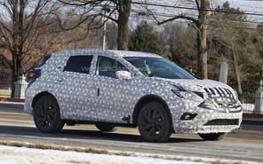 Nissan Murano нового поколения обретает формы