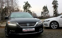 Тест-драйв Honda Accord и Volkswagen CC