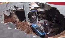 В музее «Корветтов» восемь машин провалились под землю