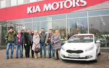 KIA  провела в Киеве слет поклонников марки