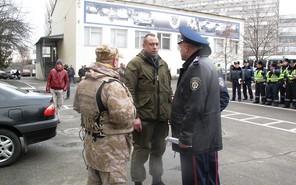 Участники Майдана вступили на службу ГАИ