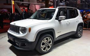 Женевский автосалон: Компактный Jeep Renegade оформил дебют