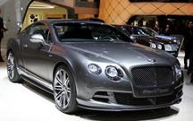 Женевский автосалон: Bentley Continental GT Speed стал мощнее