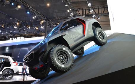 Пекинский автосалон: Peugeot 2008 к «Дакару» готов