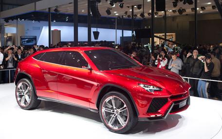 Пекинский автосалон: Серийный Lamborghini Urus появится через четыре года