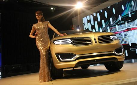 Пекинский автосалон: Кроссовер Lincoln MKX не остановится на Китае