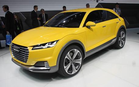 Пекинский автосалон: Audi TT «переоделся» в кроссовер