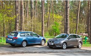 Тест-драйв Seat Leon ST и Volkswagen Golf Variant