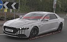 Aston Martin тестирует седан