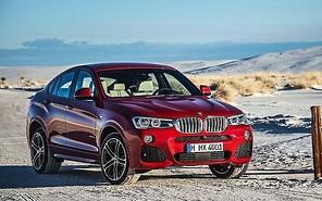 BMW X4 получит 380 лошадиных сил