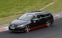 Volkswagen готовит «горячий» универсал Golf R Variant