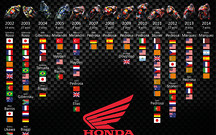 Honda отмечает 100-ю победу в классе MotoGP
