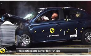Citroen C-Elysee получил «тройку» от Euro NCAP