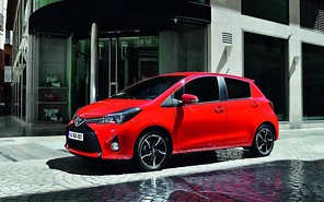 Toyota Yaris обновился
