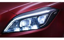 Видео: Mercedes показал как работают новые фары с технологией Active Multibeam LED