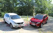 Тест-драйв Nissan Qashqai и Kia Sportage