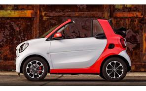 Smart ForTwo Cabrio 2015 самый маленький кабриолет в мире