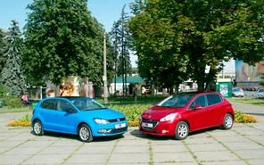 Тест-драйв Peugeot 208 и Volkswagen Polo