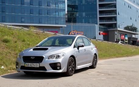Тест-драйв Subaru WRX 2014 / Видео