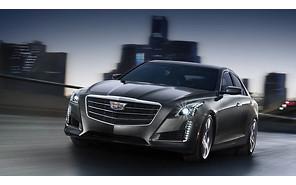 Обновленный седан Cadillac CTS представился