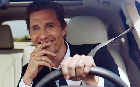 Картинки по запросу Мэттью Макконахи снялся в рекламе нового Lincoln Navigator