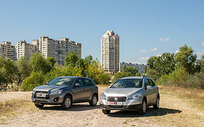 Тест-драйв Mitsubishi ASX и Suzuki New SX4