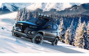 Внедорожник Chevrolet Niva представлен в сети
