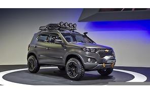 Внедорожник Chevrolet Niva нового поколения дебютировал