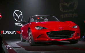 Новый родстер Mazda MX-5 презентован