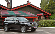 Тест-драйв Nissan Patrol 2014