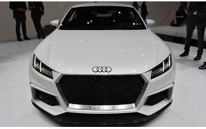 Audi TT приедет в Париж без крыши