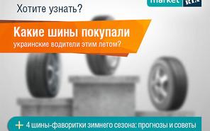Как украинские водители к лету готовились: дайджест продаж летней резины от MARKET.RIA.com