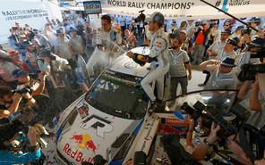 Команда Volkswagen стала чемпионом ралли WRC