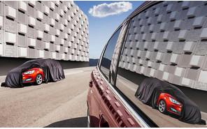 Обновленный Ford C-Max уже выглядывает