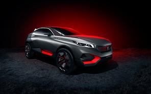 Концептуальный кроссовер Peugeot Quartz презентуют в Париже