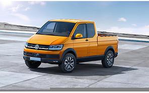 Volkswagen представил концепт нового пикапа