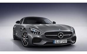 Самый первый Mercedes AMG GT явится на Парижский автосалон