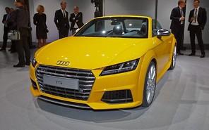 Парижский автосалон 2014: У Audi ТТ сорвало крышу