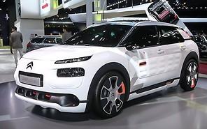 Парижский автосалон 2014: Citroen Cactus научился экономить топливо