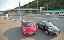 Тест-драйв Hyundai Elantra и Kia Cerato