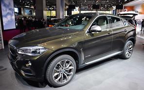 Парижский автосалон 2014: BMW X6 нового поколения представили публике