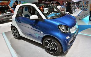 Парижский автосалон 2014: Smart'ы сменили поколение