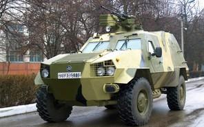 Украинские броневики переходят на двигатели Volvo