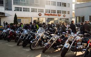 Harley-Davidson торжественно закрыл мото-сезон