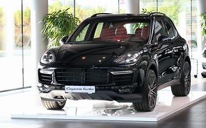 В Украине представлены модернезированные Porsche Cayenne