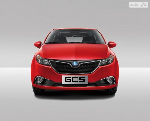 Новый Geely GC5 доступен от 137 900 гривен