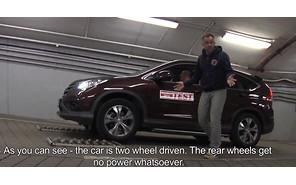 Полный привод Honda CR-V — не работает