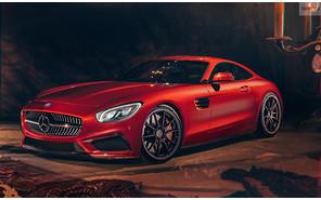 Новый твин-турбо мотор V8 доступен для разных моделей Mercedes