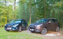 Тест-драйв Hyundai ix35 и Mazda CX-5