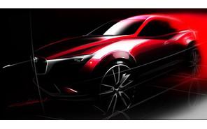Мазда опубликовала первый тизер Mazda CX-3